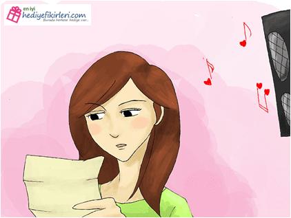 Sevgiliye romantik sürprizler