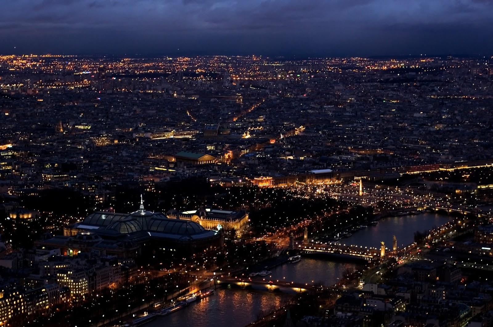 Paris Paris By Night