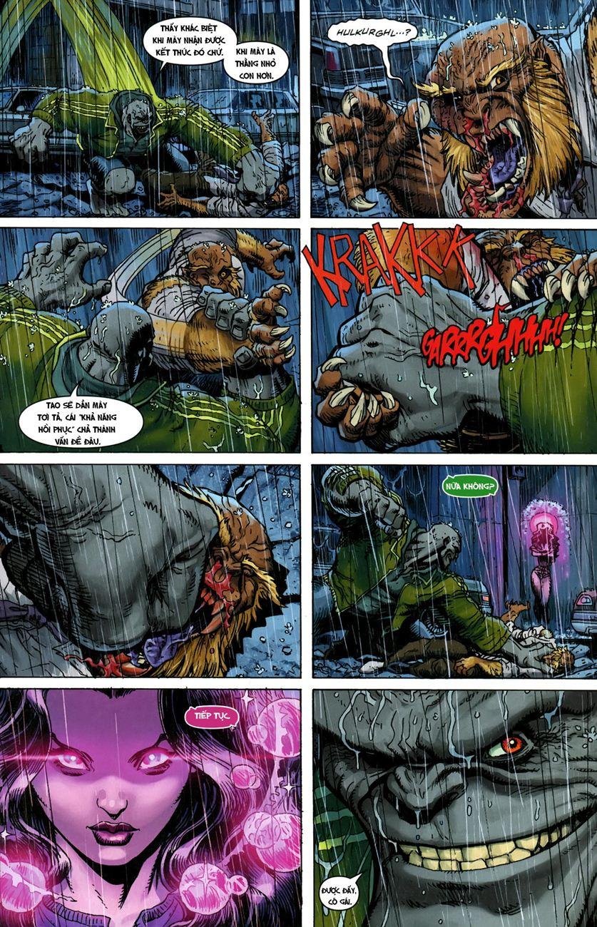 TruyenHay.Com - Ảnh 13 - Ultimate Comics X Chap 5
