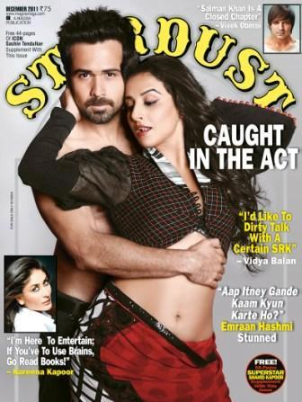 Vidya Balan Stardust Cover Scan1 - Vidya Balan On The Cover Of Stardust Magazine Nov 2011