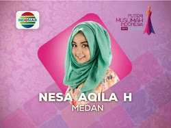 Profil Biodata Nesa Aqila Herryanto Putri, Putri Muslimah Indonesia 2015 Asal Medan