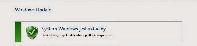 System Windows zaktualizowany!