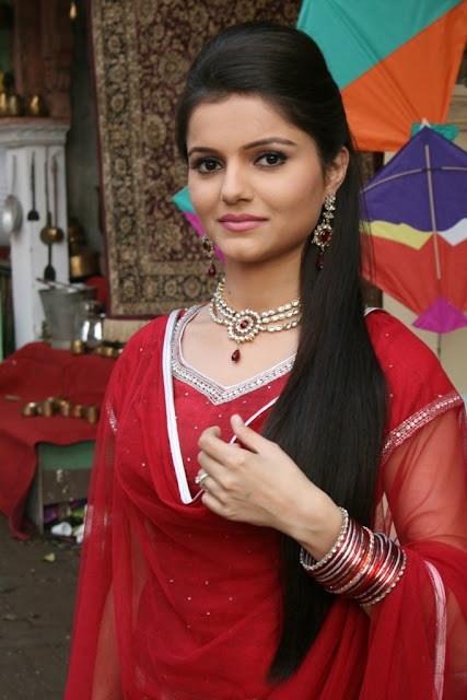 Rubina Dilaik Boobs size is visible
