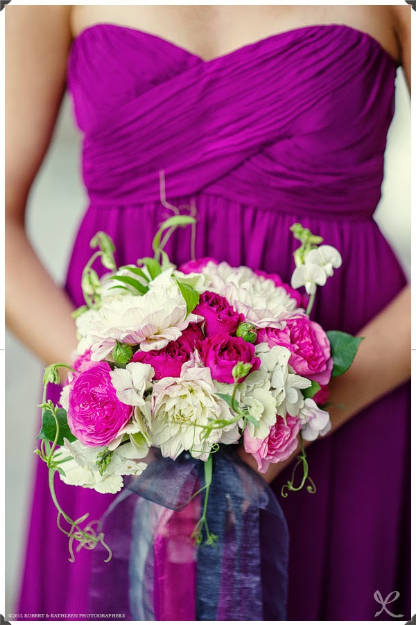 Highlands Country Club Wedding - Garrison, NY - Hudson Valley Wedding - Attendent Bouquet Flowers- Splendid Stems Floral Designs