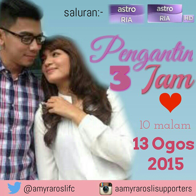 Pengantin 3 Jam (2015) Astro, Tonton Full Telemovie, Tonton Telemovie Melayu, Tonton Drama Melayu, Tonton Drama Online, Tonton Drama Terbaru, Tonton Telemovie Melayu.