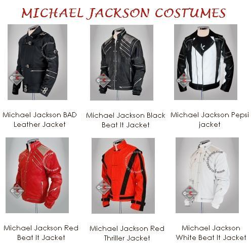 The Legend! The King of Pop! Michael Jackson Costumes MJ+COSTUMES