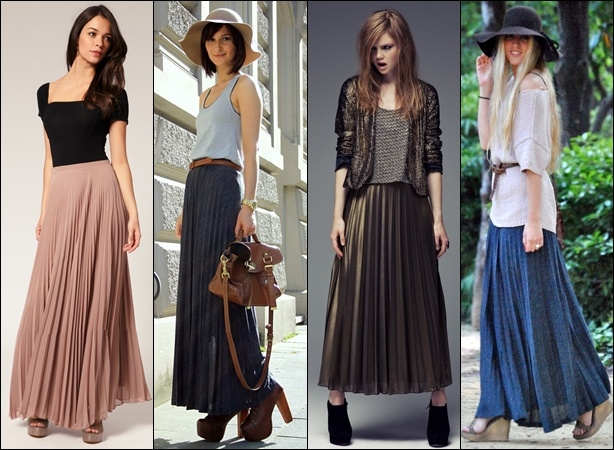 Pleated Skirt Trends 2013
