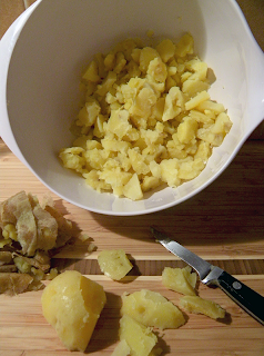 Demo of How to Peel and Slice Potatoes