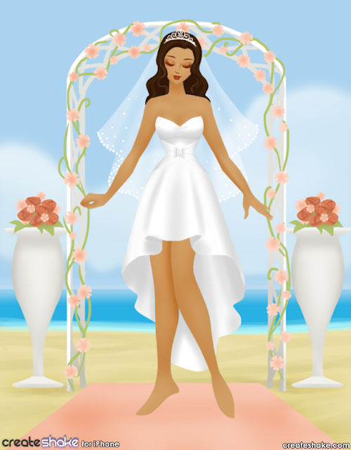 CreateShake: Wedding Dress Designer APP