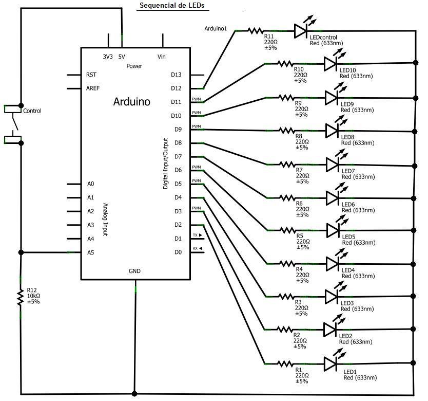 Conhecendo componentes eletronicos Sequencial_leds_Esquema