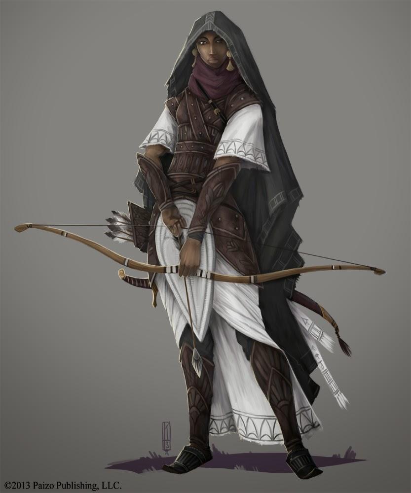 Inside Days: Pathfinder - Osirion, Legacy of The Pharaohs Ancient Arabian Princess