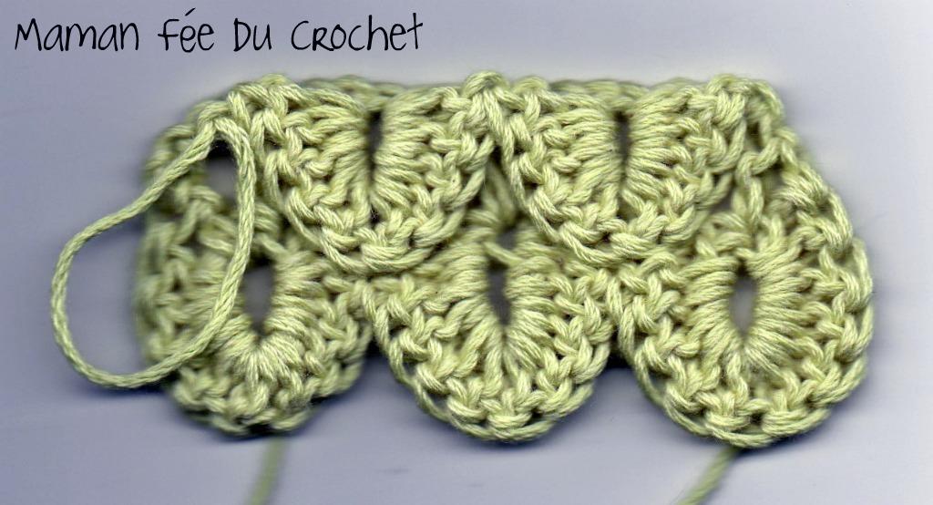 Comment Faire Le Point Crocodile Maman F 233 E Du Crochet