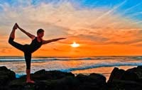 Bali beach sunset 200 hour 500 hour yoga teacher training Bali intensive 2014 2015