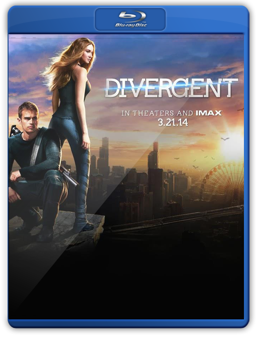 Divergente Bluray