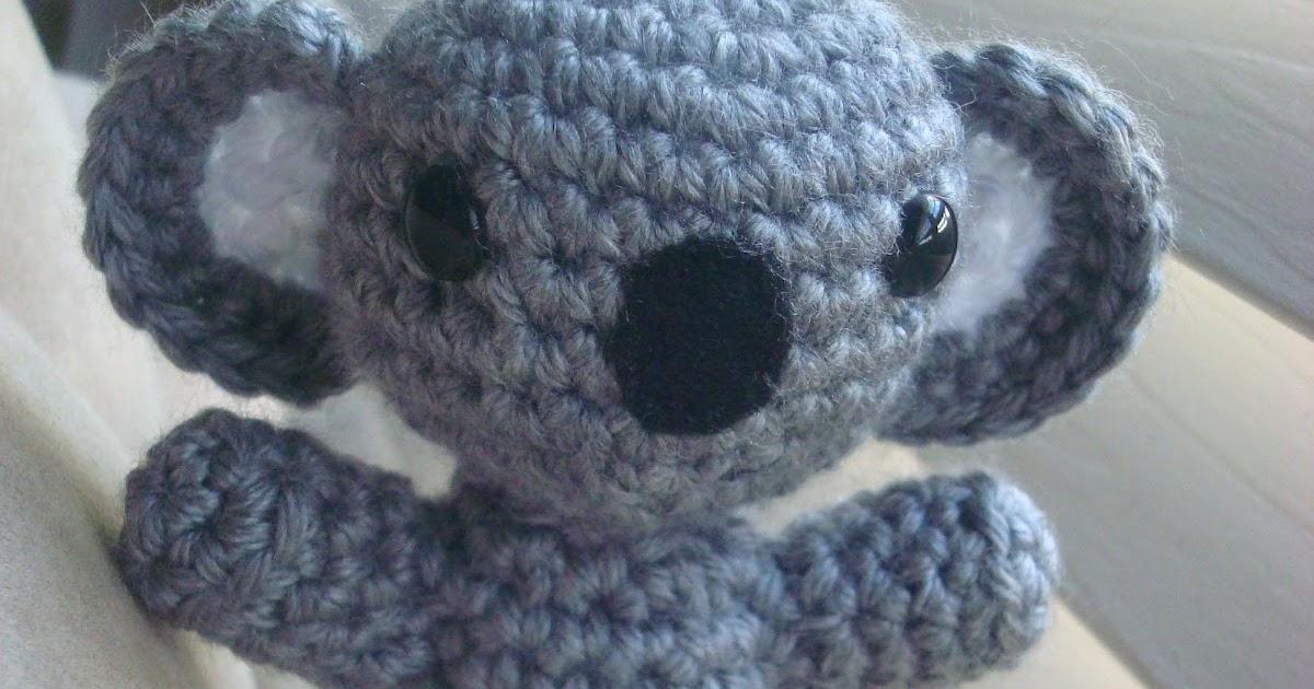 Koala Amigurumi Nose : Crystal Panda: First Koala Amigurumi
