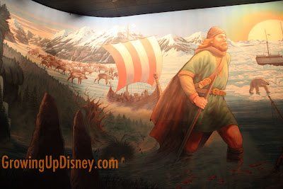 Hidden Mickey in Maelstrom, viking with Mickey ears