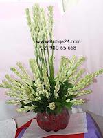 Dekorasi Bunga Sedap Malam untuk Hari Raya