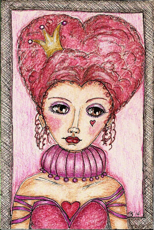 The Queen of Hearts by Tori Beveridge 2014