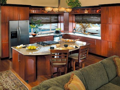 Canyon Creek cabinets in cherry