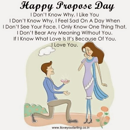 Happy Propose Day 2015 Wallpapers And Text Messages