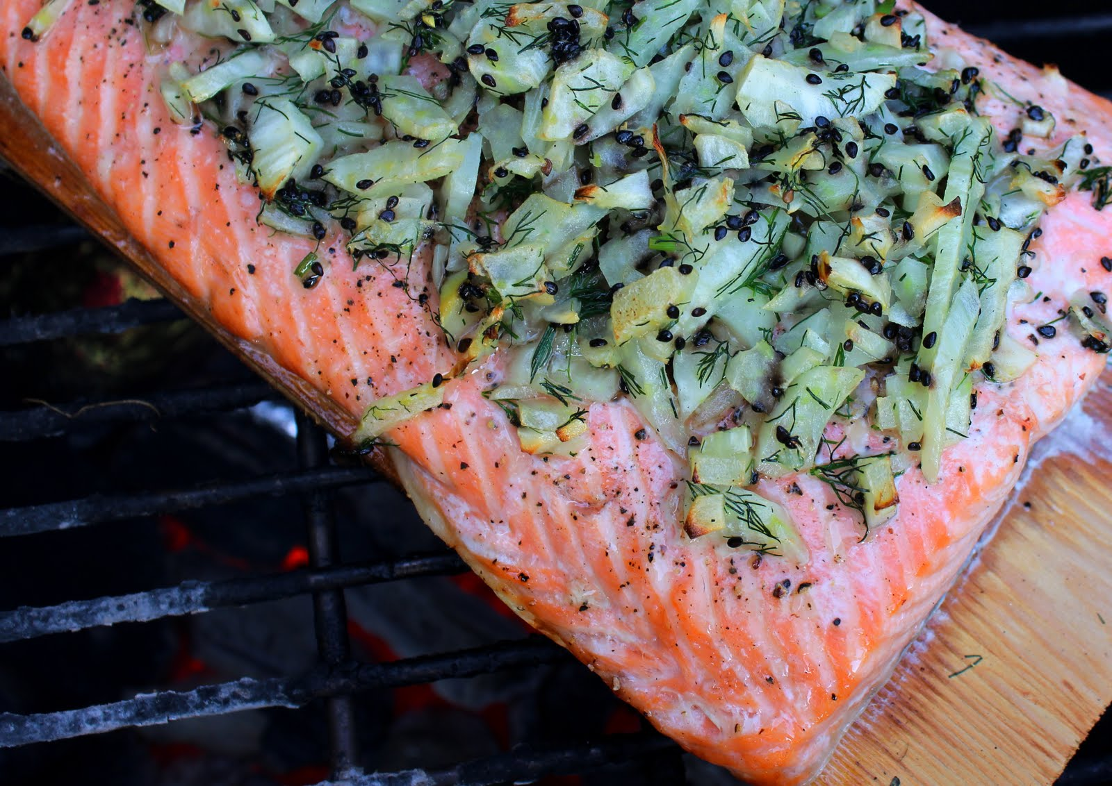 Paper Bag Kitchen: Fireside Fennel and Dill Salmon