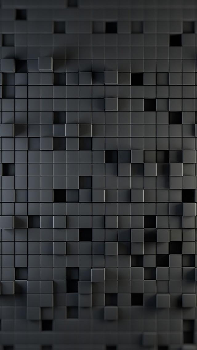 黒いタイル