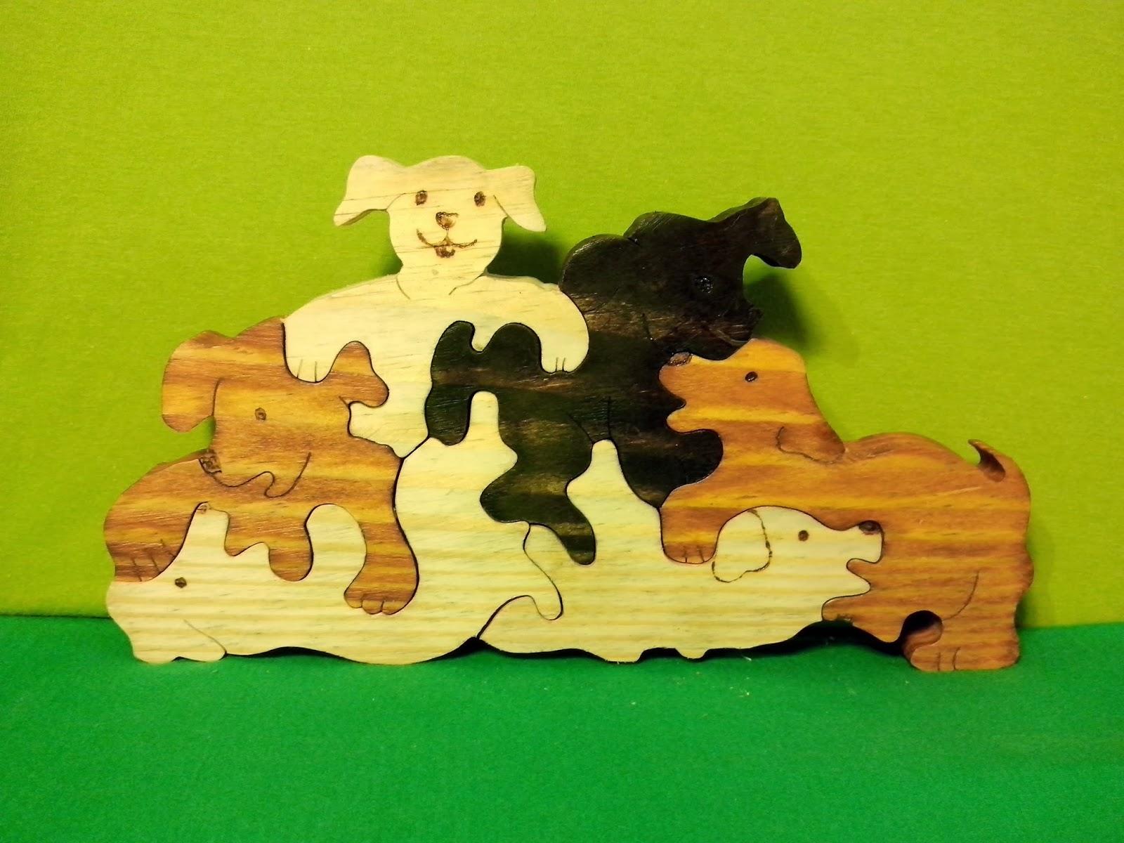 cachorro  madeira brasilia df artesanato