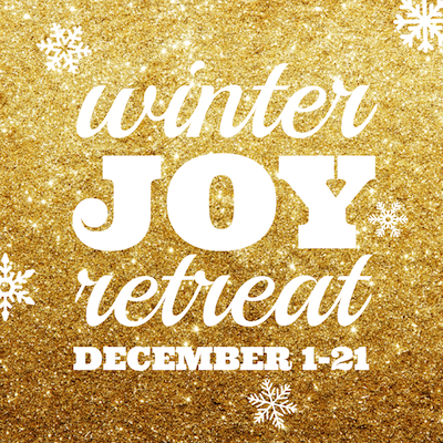 Winter Joy Retreat 2013