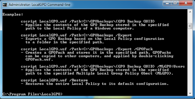 09 security compliance manager v2 local gpo command line