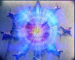 A mandala delimita um espaço sagrado