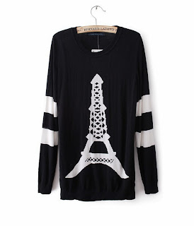 http://www.aupie.com/ladies-fashion-vintage-eiffel-tower-pattern-black-sweater.html