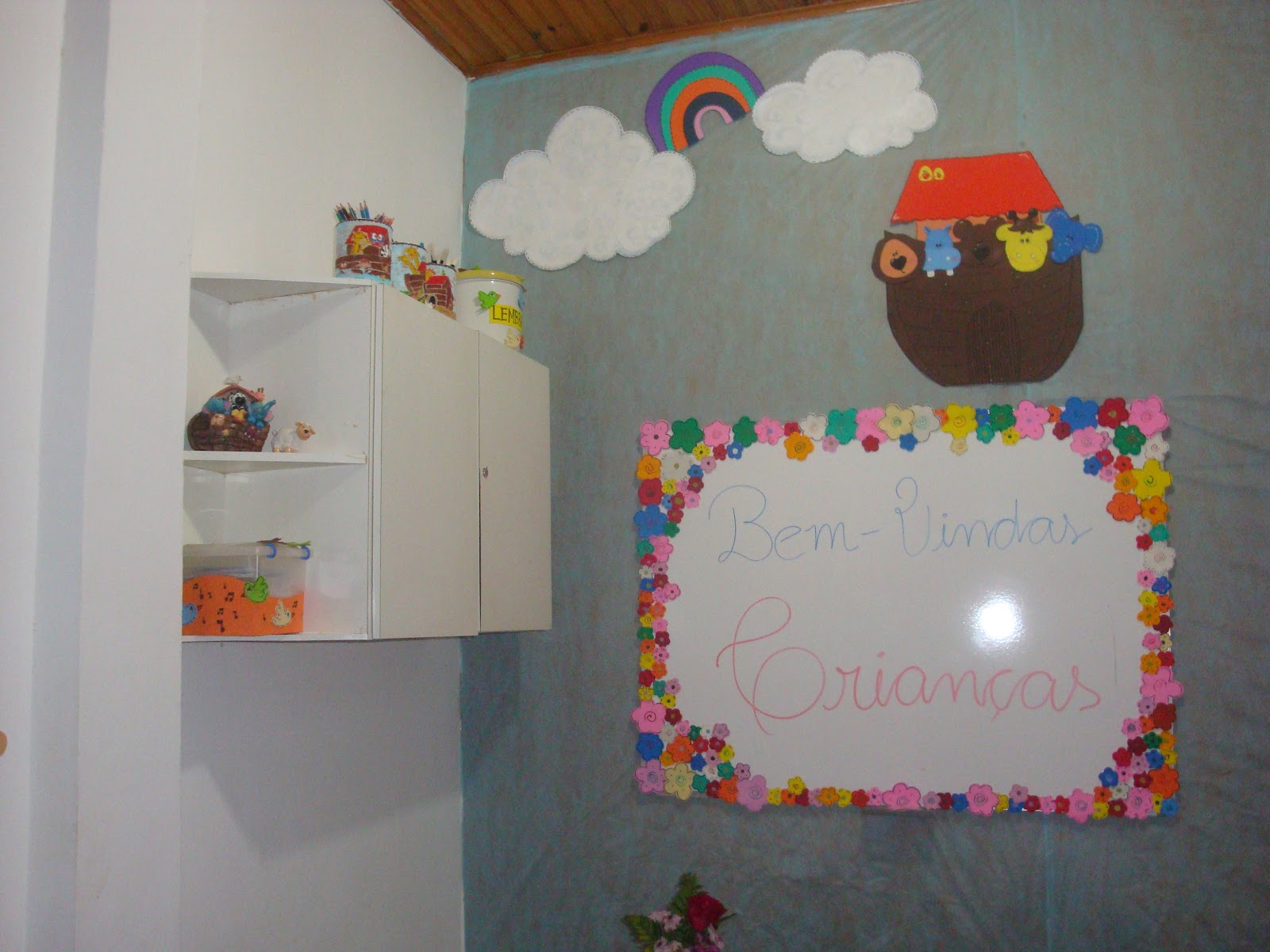 decoracao de sala infantil escola dominical : decoracao de sala infantil escola dominical:Grande Amor de Deus: Decoração para sala de aula