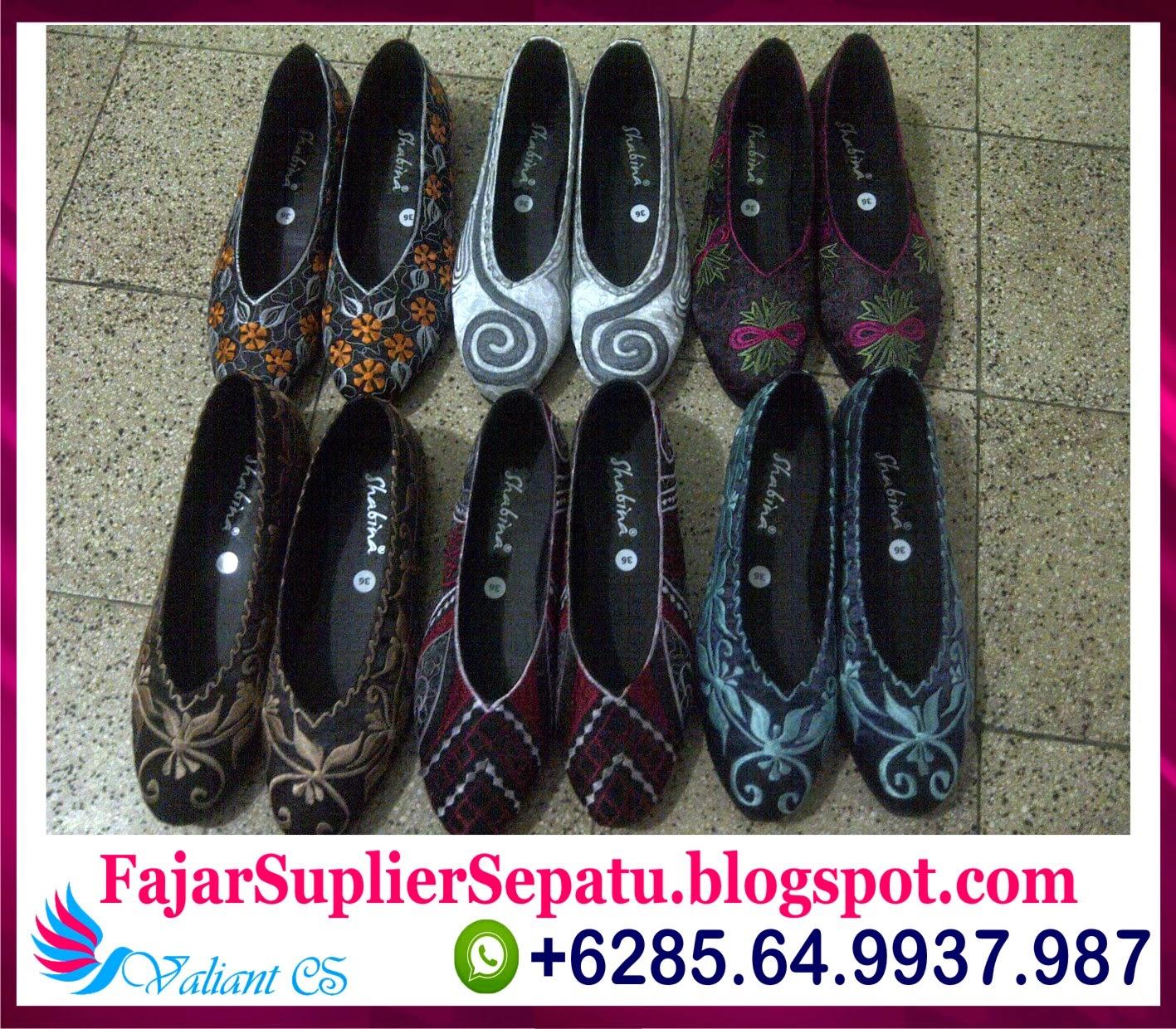 Sepatu Bordir Murah, Jual Sepatu Bordir Batik, Produsen Sepatu Bordir Bangil, +62.8564.993.7987
