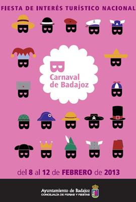 Carnaval de Badajoz 2013 final concurso de murgas ganadores