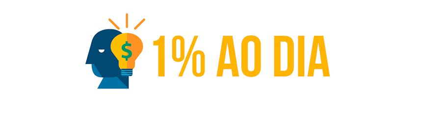 1% Ao dia