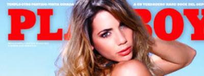 Dominique Pestaña se desnuda en Revista Playboy Febrero de 2012.