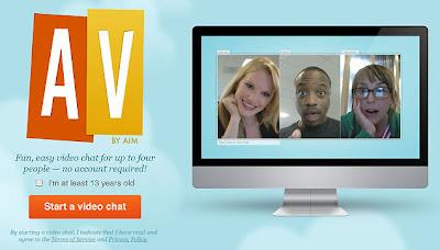 AOL AV Video Chat