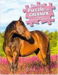 Mon livre puzzles chevaux