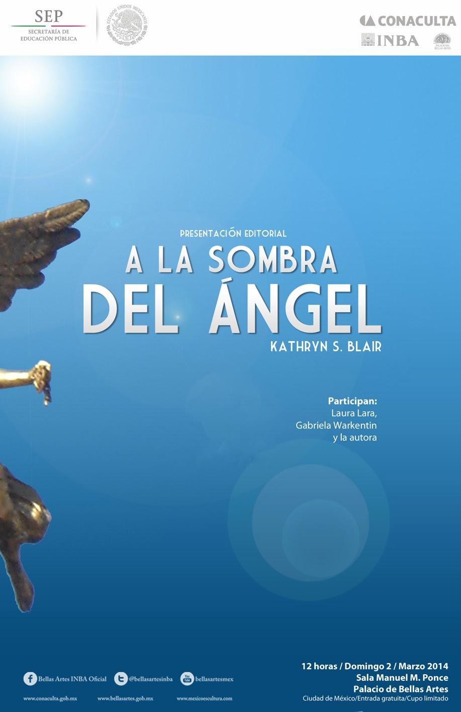 """Presentan el libro """"A la sombra del Ángel"""" en formato electrónico"""