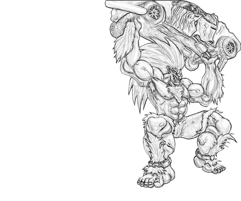 blanka-strong-coloring-pages
