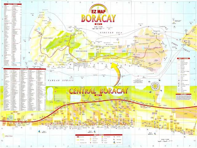 Boracay Map, Map of Boracay, Boracay Island, boracay island blog, boracay blog, boracay adventure, boracay island adventure, boracan island tour, boracay tour