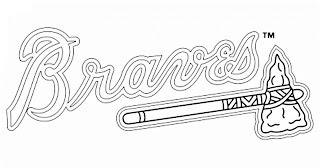 Escudo de los Bravos para colorear