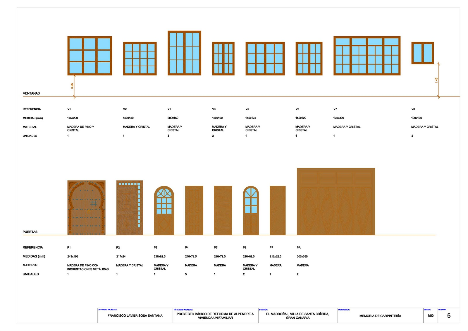Delineando en 2d y 3d proyecto de reforma de alpendre en for Planos carpinteria