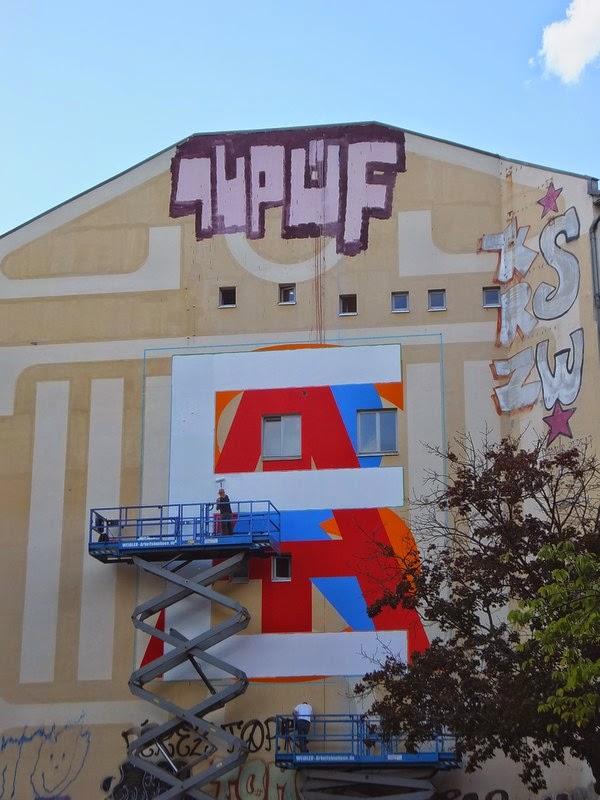 Allemagne Berlin street art
