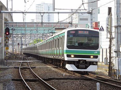 常磐線快速 「我孫子・成田」行き2 E231系(2015年~)