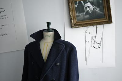 vanessa lekpa mode masculine manteau annes 40 élégance de la révolte marque francaise fati main localement paris