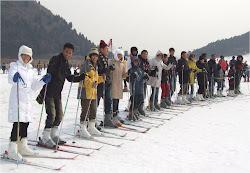 เล่นสกีหิมะ สนุกสุดยอดเลยครับ