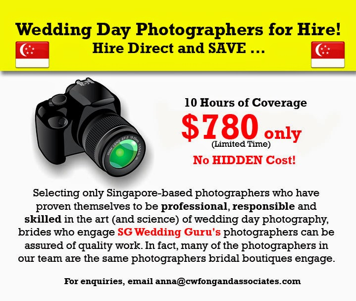 actual day wedding photographers singapore