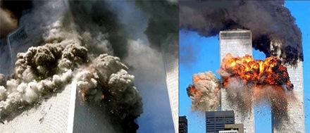 Foto-Foto dari Berbagai Peristiwa Masa Lalu Yang Paling Mengerikan, Mengejutkan, Menyedihkan dan Bikin Syok - Serangan 11 September 2001