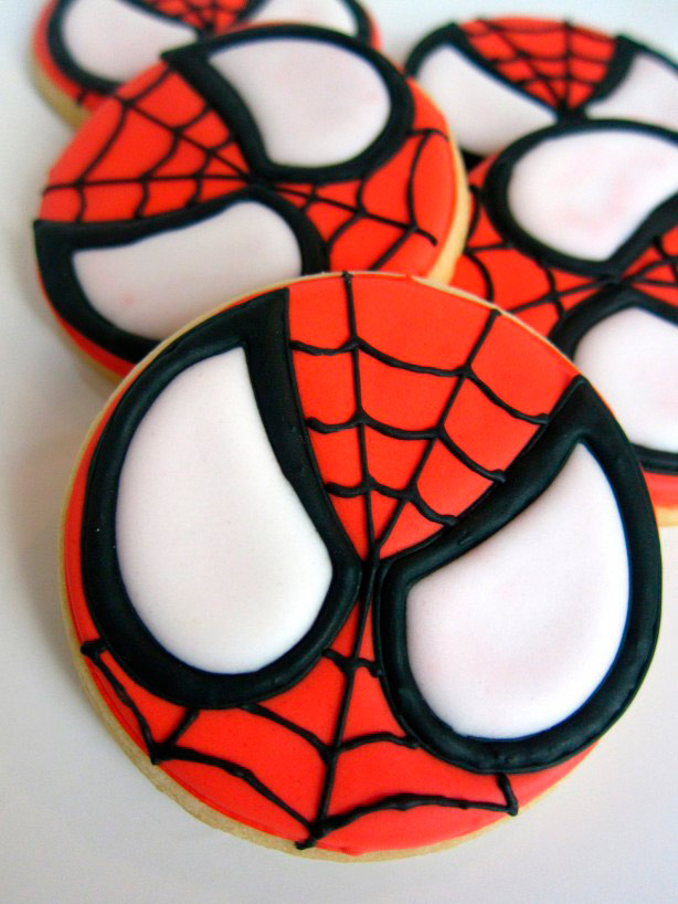 Cookies Spider-Man